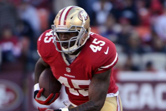 Brandon Jacobs a Healthy Scratch for 49ers