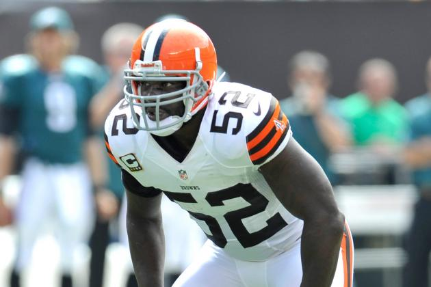 Browns' D'Qwell Jackson, Giants' Andre Brown out