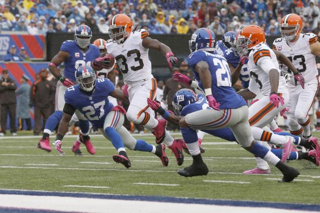 Why Trent Richardson Proves That Running Backs Can Be Worthy of Top 5 Picks
