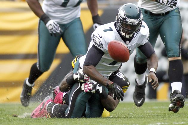 Eagles vs. Steelers: Blame for Loss Lies Squarely on Michael Vick's Shoulders