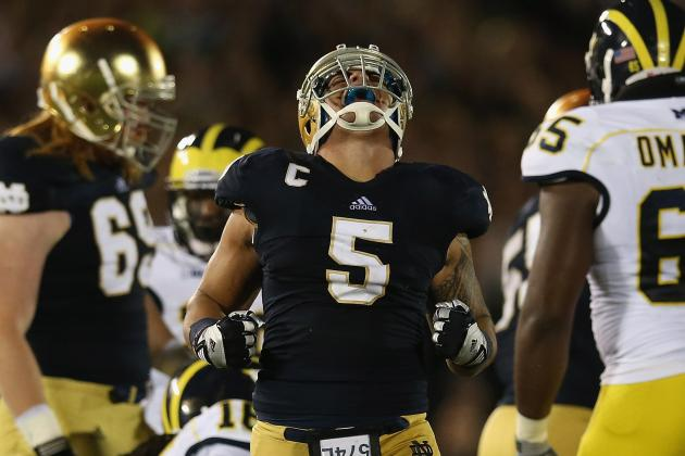 Oakland Raiders 2013 NFL Draft Wish List No. 3: MLB Manti Te'o
