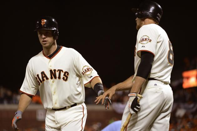 SF Giants, Reds Go with Same Lineups for Game 2