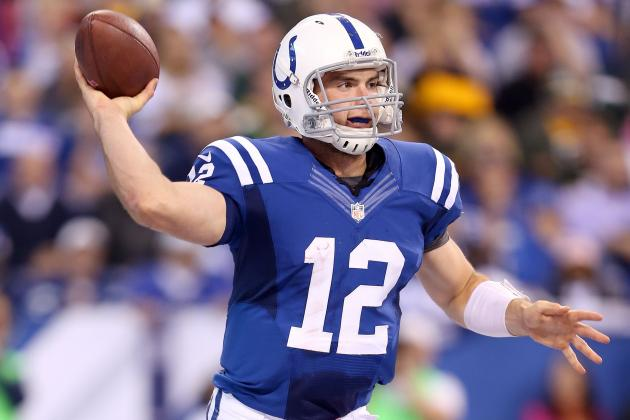Andrew Luck: Colts QB Has Made Himself Must-Start Player for Fantasy Owners