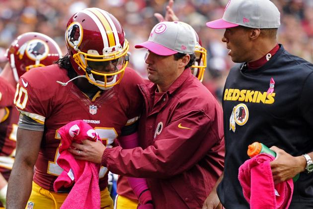 Robert Griffin III Injury Update: Redskins Have to Be Cautious with QB's Return