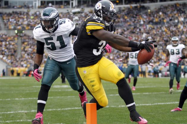 Eagles vs. Steelers: Injuries, Mendenhall's Return Mark a 16-14 Pittsburgh Win