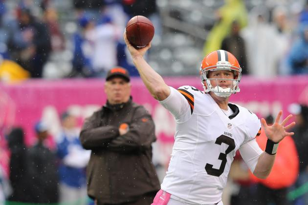 Why Cleveland Browns' Atrocious Record Is Hardly Brandon Weeden's Fault