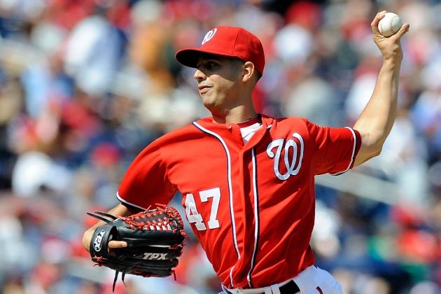2012 NLDS: Why Gio Gonzalez's Horrific Control Shows He's Not a Big-Game Ace