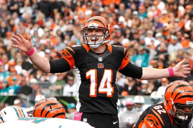Dolphins vs. Bengals: Andy Dalton's Down Performance Leads to a Cincy Loss