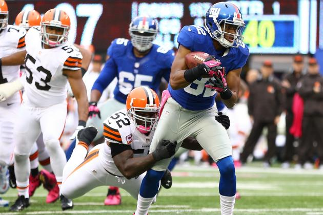 Rueben Randle: NY Giants' Backup Is Not the Answer for Fantasy Woes