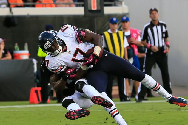 Alshon Jeffery: Bears' Offense Will Feel Loss of Rookie WR If He Misses Time