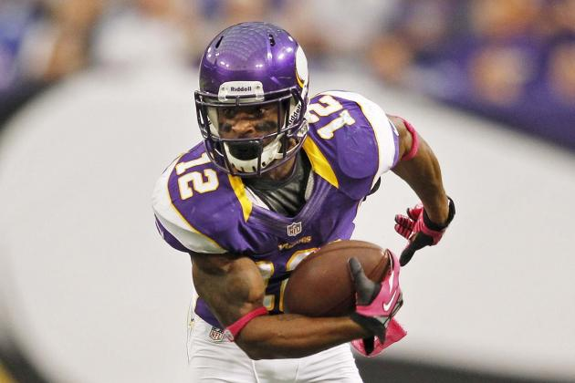 Vikings vs. Titans: Harvin Leads Minnesota Annihilation of Stumbling Titans