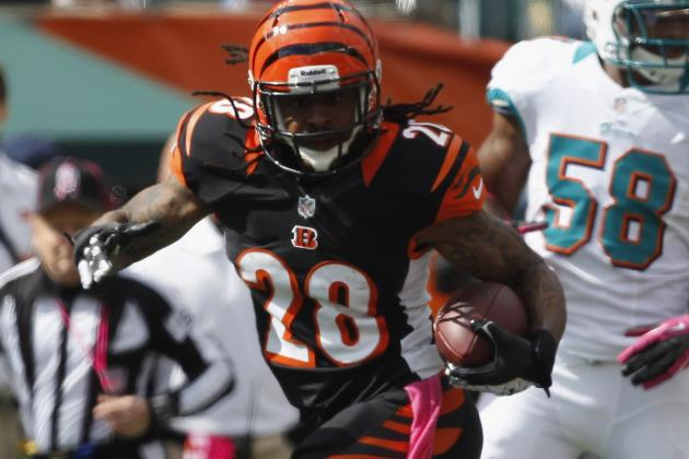 Bengals Fear Torn ACL for Bernard Scott