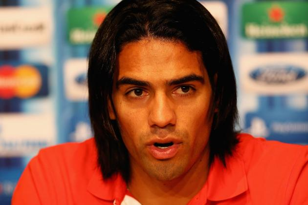 Flight of the Falcao? City Boss Mancini Watches £45m Atletico Striker