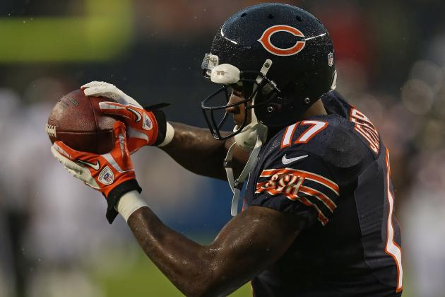 Alshon Jeffery: Analyzing Chicago Bears WR's Fantasy Impact for Rest of Season