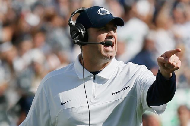 Penn State Football: Bill O'Brien Should Win National Coach of the Year Award