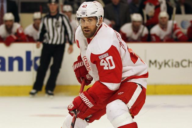 Red Wings' Henrik Zetterberg Signs with Swiss Club