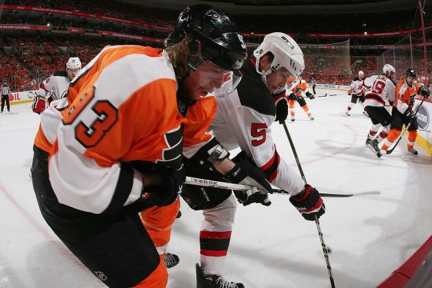 Voracek Injures Knee While Playing Overseas