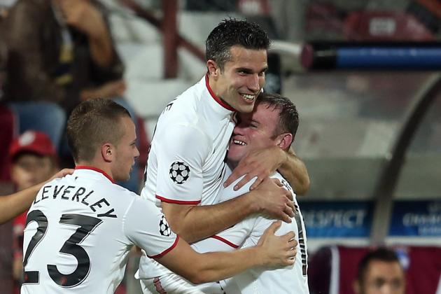 Wayne Rooney and Robin van Persie Partnership Starting to Flourish