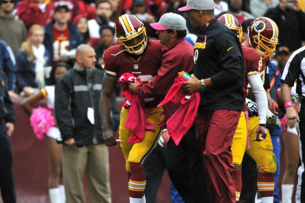Robert Griffin III Expects to Play in Week 6, and More NFC East News