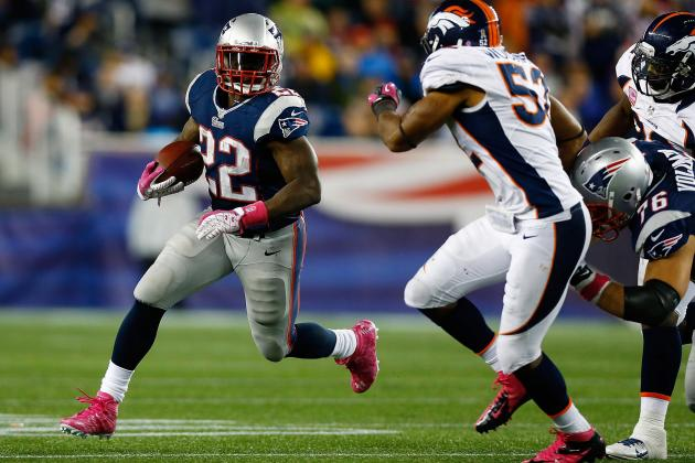 New England Patriots: Could Stevan Ridley Win the NFL's Rushing Title?