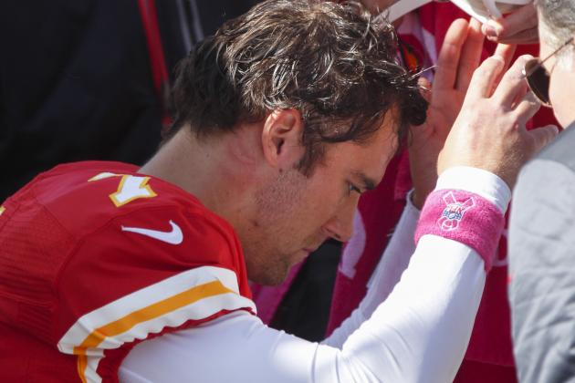 Matt Cassel Injury: Updates on Chiefs QB's Head