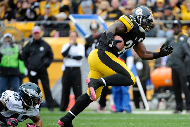 Rashard Mendenhall Gives Steelers Lift in Return