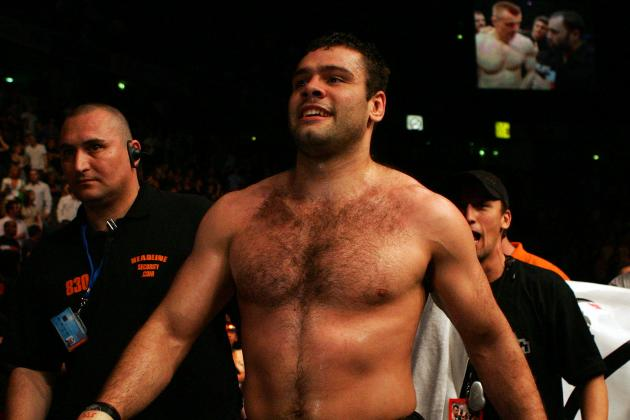 Gonzaga Will Serve as Back-Up at UFC 153 in Case of Heavyweight Injury