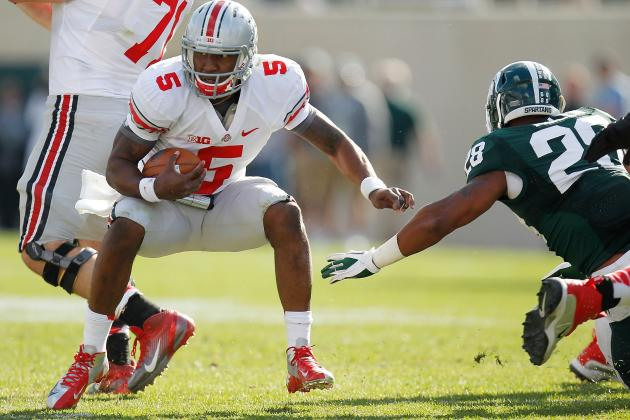 Ohio State Football: Braxton Miller Rivaling Geno Smith for Heisman Award