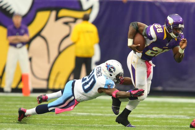 Minnesota Vikings: Twisted Ankle Left Adrian Peterson 'out of Whack'