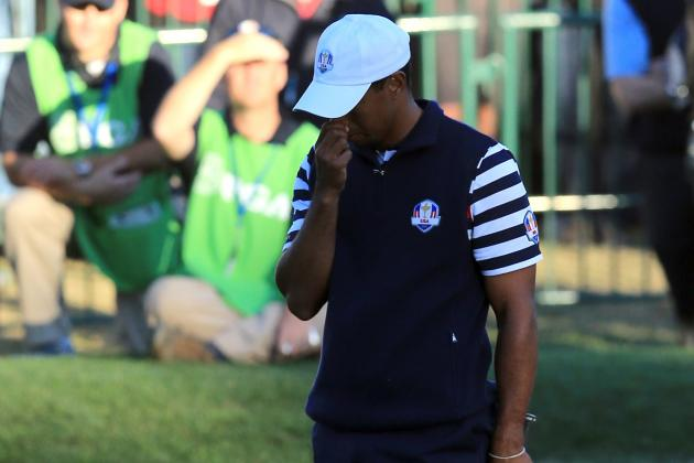 Report: Tiger Apologized to Ryder Cup Rookies