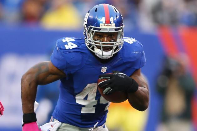Ahmad Bradshaw: Buying or Selling Giants RB's Monster Day for Fantasy Owners