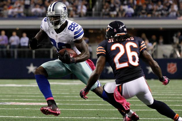 Cowboys Receiver Dez Bryant's Route Running Is Limited