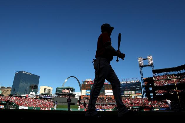 Busch Stadium Shadows Wreak Havoc with Nats