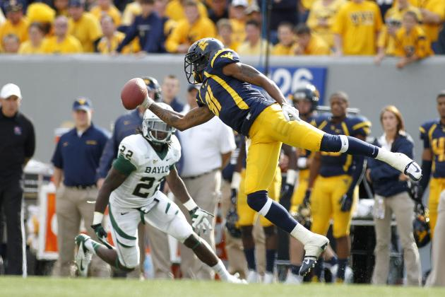 WVU Offense Puts Up Texas-Sized Numbers