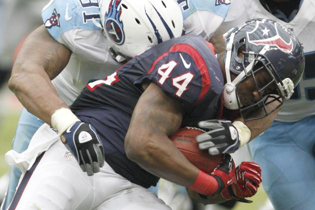 Report: Ben Tate Unlikely to Play vs. Jets