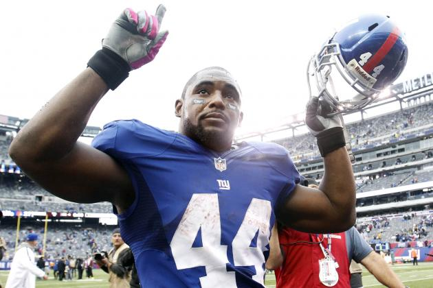 New York Giants: Revitalized Ahmad Bradshaw Finally Getting Room to Work