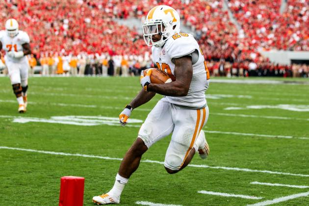 Surprise: Vols' Neal Leads SEC in Carries