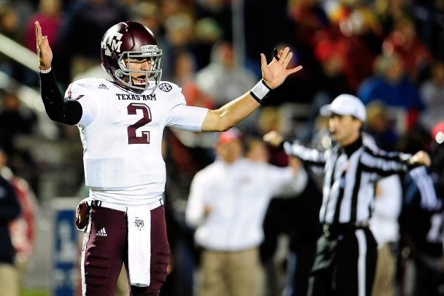 A&M's Manziel Took Senior's Advice