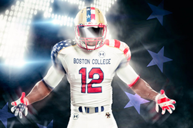 Under Armour Reveals Freedom Jerseys for Boston College and Hawaii