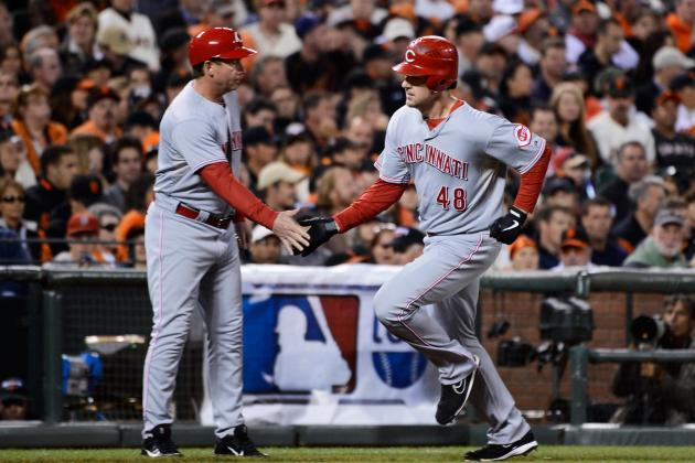 MLB Playoff Predictions: Cincinnati Bats Will Lead Reds to Sweep Giants