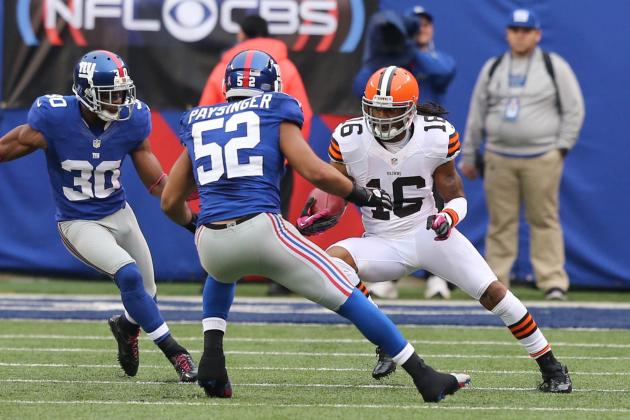 NFL Ducks: Paysinger Makes First Career Start on Defense for Giants