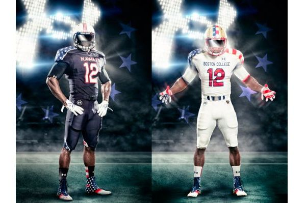 Breaking Down Boston College and Hawaii's Under Armour Freedom Jerseys