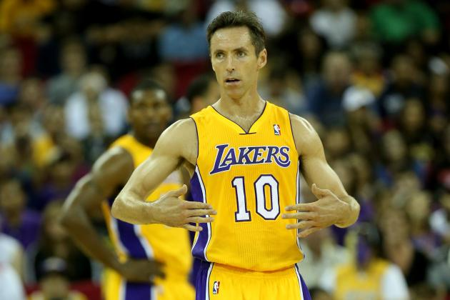 How Steve Nash Will Allow Kobe Bryant to Play His Natural Game