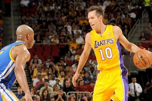 Nash Crossed Jarrett Jack, Looked Good in Lakers Debut