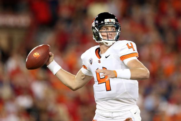Sean Mannion Injury: Updates on Oregon State QB's Knee
