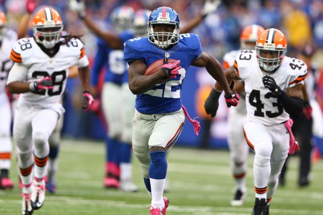 Giants Rookies Wilson, Randle Prove Themselves as Offensive Players
