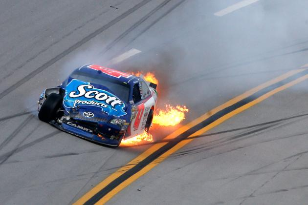 Talladega Crash Video: Restrictor Plates Here to Stay Despite Driver's Concerns