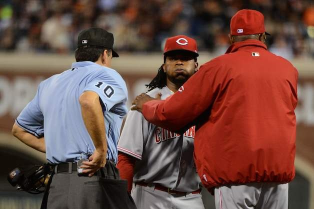 Reds 'Cautiously Optimistic Johnny Cueto Could Return in NLDS