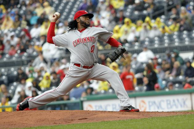 Johnny Cueto Says He's Fine, Cincinnati Reds Plan to Play Injury by Ear