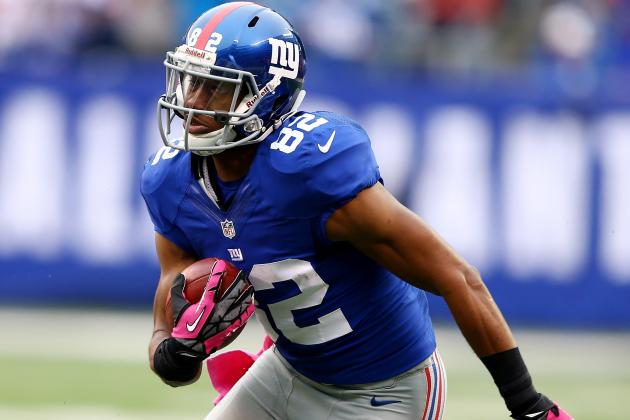 Domenik Hixon: Rueben Randle's Production Hurts WR's Fantasy Value